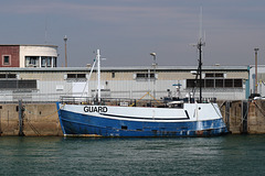 """""""Guard"""" - the sentry boat for Weymouth harbour"""