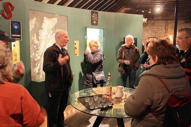 Blair Athol Distillery, ein Schluck zum Probieren