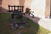 Waffe in der Liubartas-Burg
