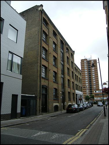 down Weston Street