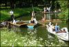 Cherwell boat jam