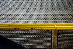 Geländer, thronend über Gangway