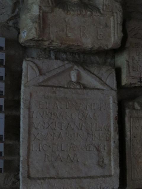 Musée archéologique de Split : CIL III, 8862.