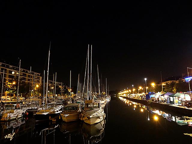 summernight in Caen