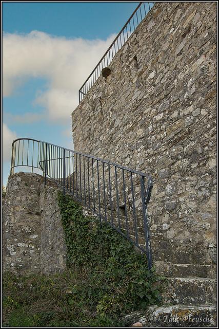 HFF - Treppe an der Chapelle Notre-Dame-de-Beauvoir