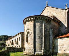 Ábside do Mosteiro de Longos Vales (Monção)