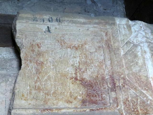 Musée archéologique de Split : CIL III, 2725.