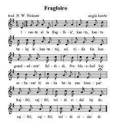 Fragfoir' (angla popolkanto)