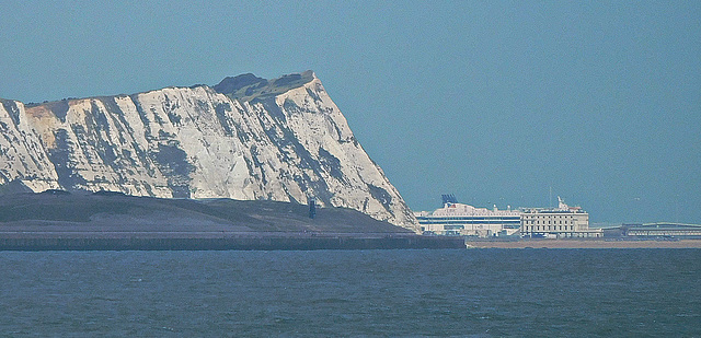 View of Dover from Folkestone