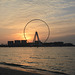 U.A.E., Dubai Eye at Sunset