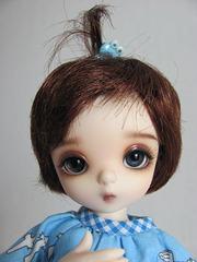 Piki girl closeup