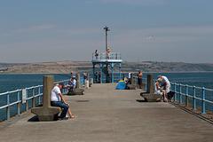 Stone Pier fishing