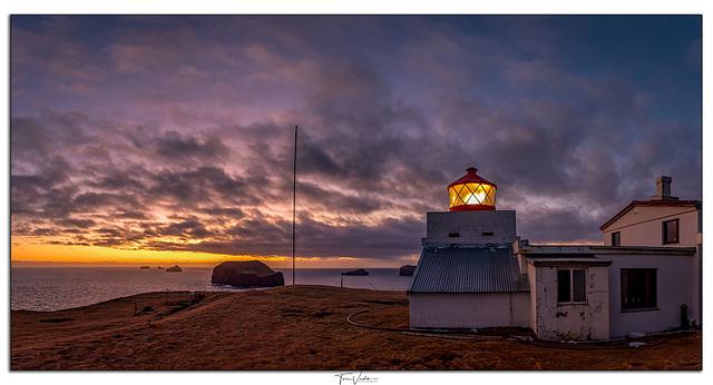 The lighthouse Stórhöfði