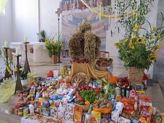 Erntedankfest in der Stadtpfarrkirche St. Barbara, Maxhütte-Haidhof
