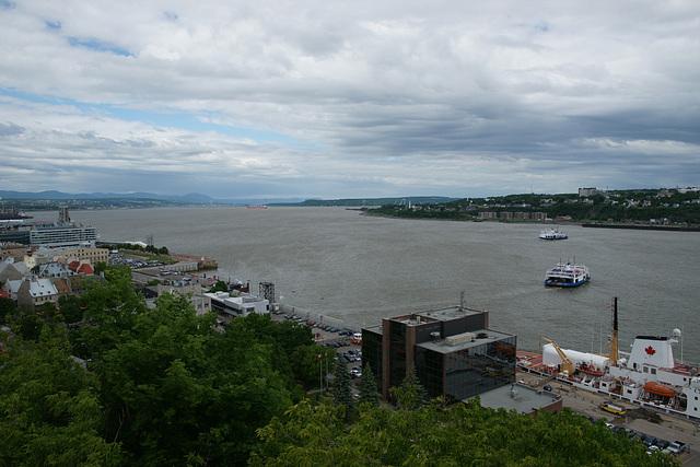 St. Lawrence River At Quebec