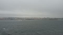 Abschied von Vigo mit schlechten Aussichten ...