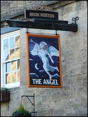 The Angel pub sign