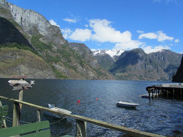 Am Aurlandsfjord bei Undredal