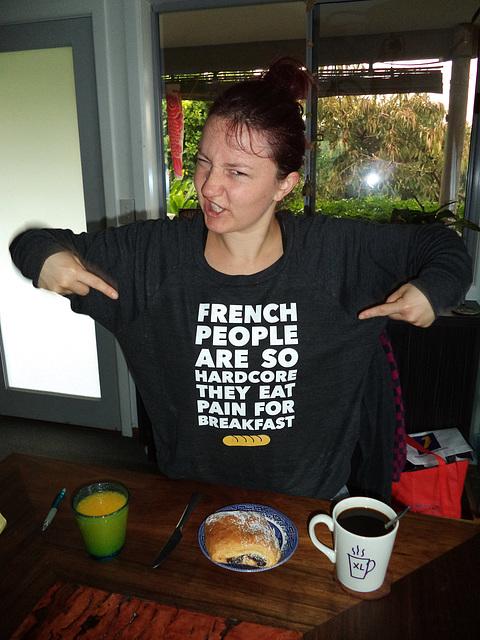 hardcore Frenchwoman