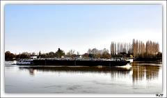 Sur la Seine...
