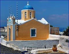 Santorini : Oia - Ekklisia Agii Apostoli -  (960)