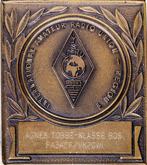 IARU Region 1 medal