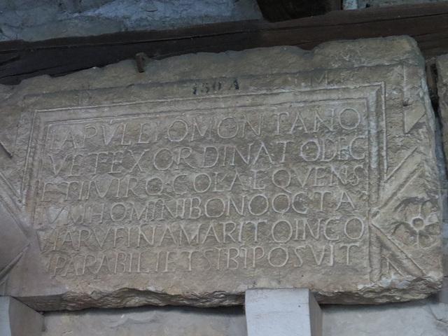 Musée archéologique de Split : CIL III, 8721