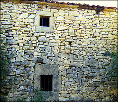 Old stone house. Canicosa, Segovia Province