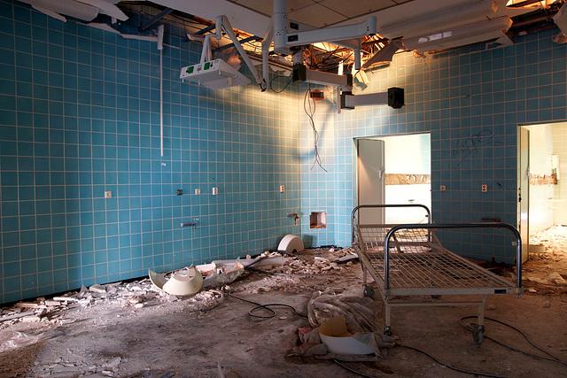abandoned operation room