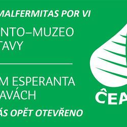 Esperanto-Muzeo en Svitavy post la koronvirusa paŭzo denove malfermitas por vi!