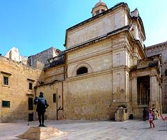 MT - Valletta - Statue von Jean de Valette