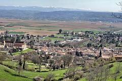 La Côte-Saint-André (38) Ville natale d'Hector Berlioz.