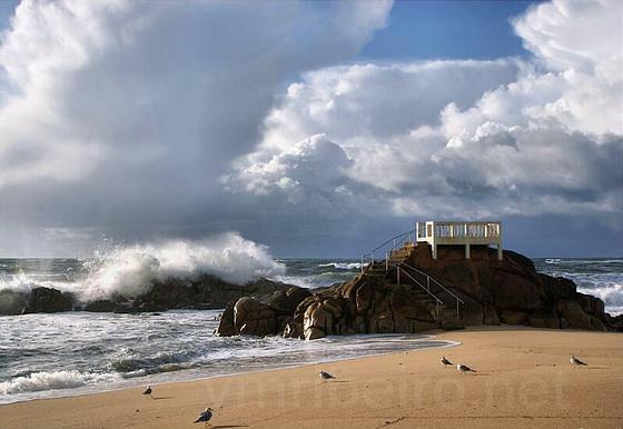 Praia das Caxinas