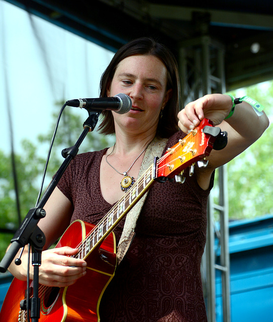 Meghan Bee plays and the festival begins