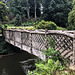 The rustic footbridge