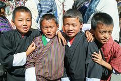 Thimphu boys