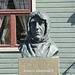 Norway, Bust of Roald Amundsen in Tromsø