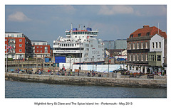 Ferry St. Clare & The Spice Island Inn - Portsmouth - 31.5.2013
