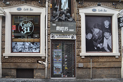 Liverpool, The Beatles Shop on Mathew Street