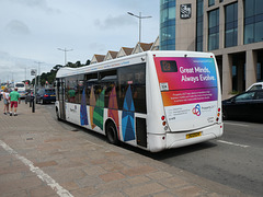 Libertybus 1724 (J 122024) in St. Helier - 4 Aug 2019 (P1030528)