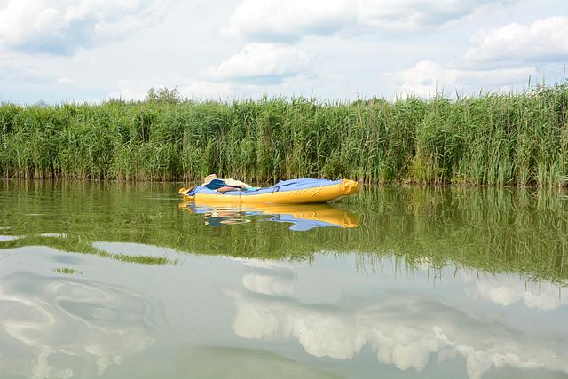 Украина, Тишина и спокойствие на реке Гнилопять / Ukraine, peace and quiet on the river of Gnilopyat