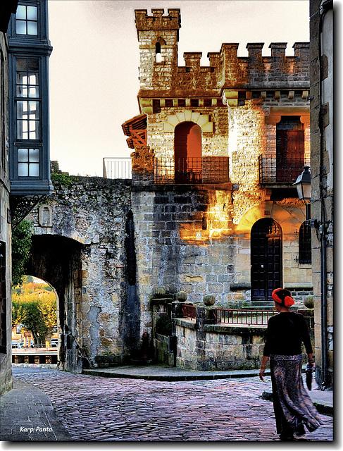 Puerta de Sta. Maria - Hondarribia - Euskal_Herria