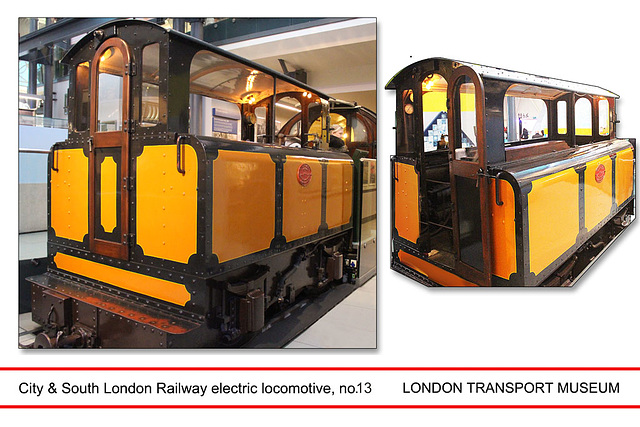 London Transport Museum - City & South London Railway no.13