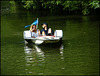 two in a pedalo