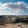 View from the Mount of Olives- Mount Scopus    - PIP - Nov 1972