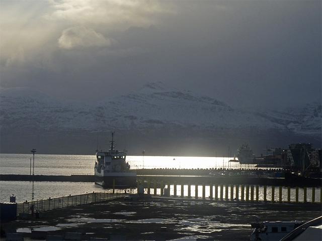 Shortly before Tromsø