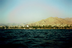 Boat trip on the Gulf of Aqaba.