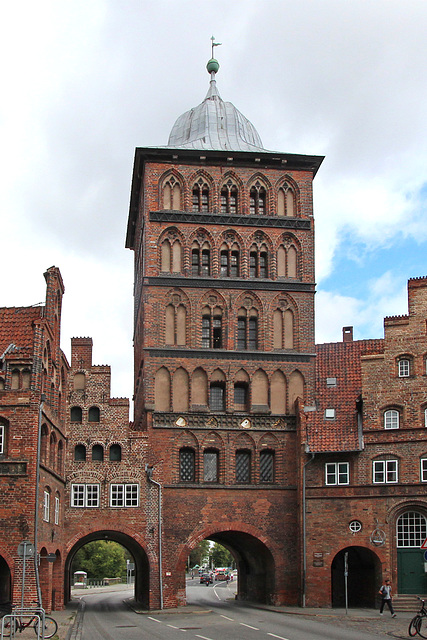 Lübeck: Burgtor