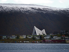 First Snow over Tromsø