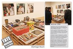 Meschac Gaba - Marriage Room - Tate Modern - 12.4.2018